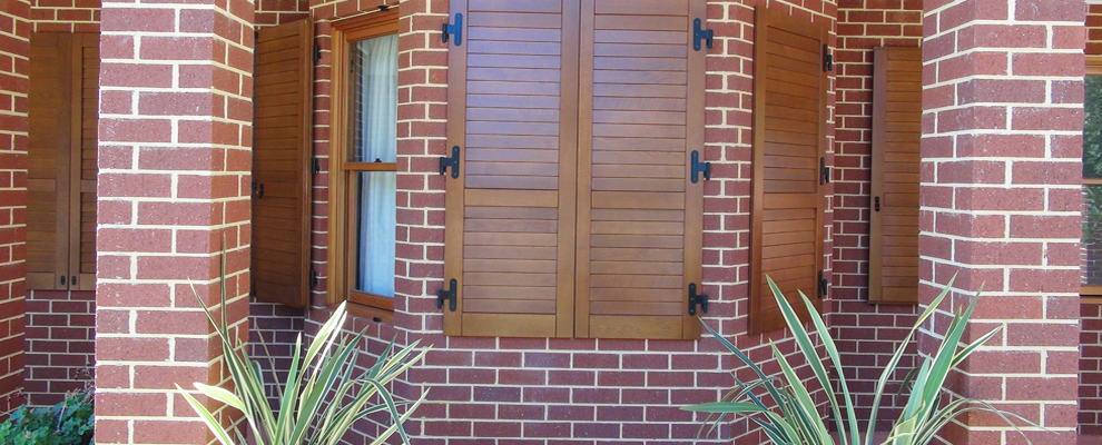 Wooden Window Shutters Perth WA